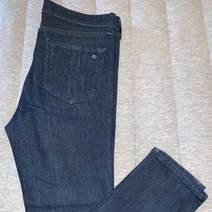 Rag and Bone dark wash skinny ankle jeans Size 10